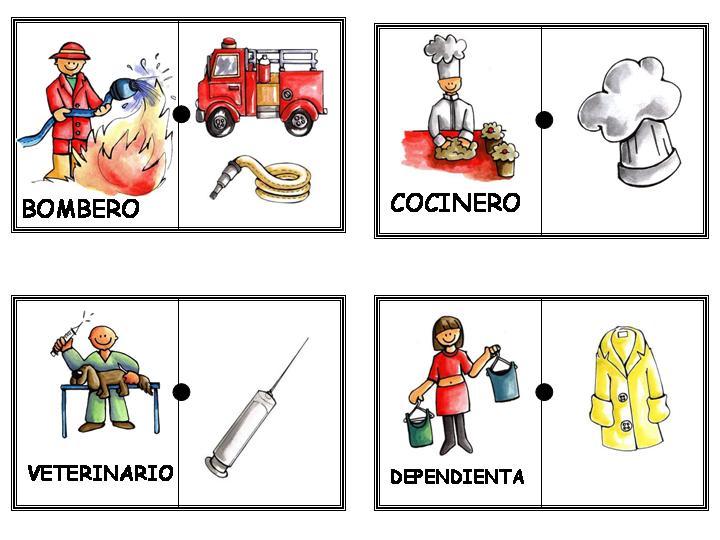Los oficios y sus herramientas domin para ense ar for Herramientas de un cocinero