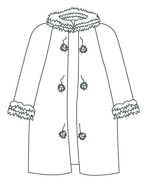 Dibujos De Ropa De Abrigo Para Colorear Ropa De Invierno