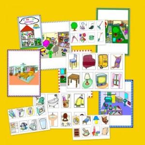 libro-juego de la casa y habitaciones