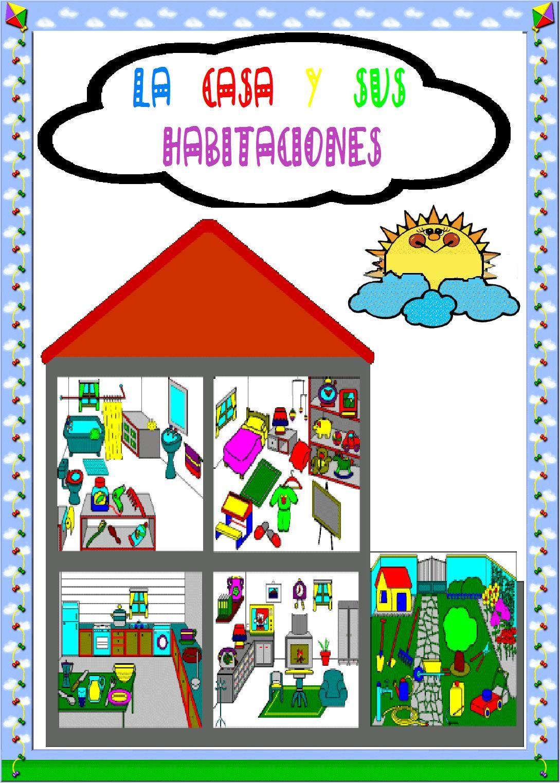 Portada del juego de la casa y sus habitaciones for Cosas decorativas para la casa