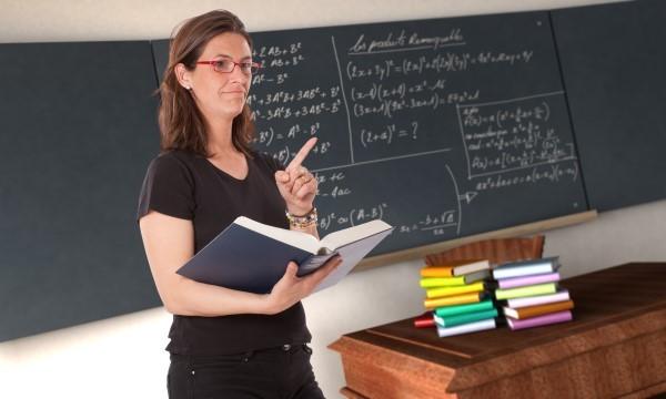 profesora niños
