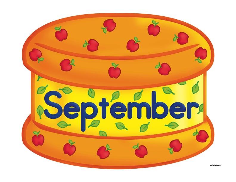 October Cake Clip Art : Los meses en ingles