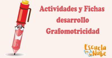 Actividades para el desarrollo de la grafomotricidad