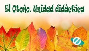 unidad didáctica otoño