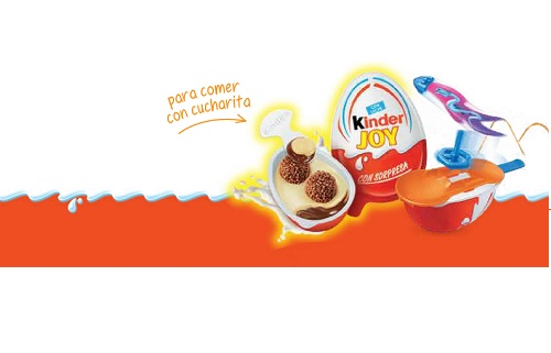 Vuelve kinder joy, diversion al aire libre