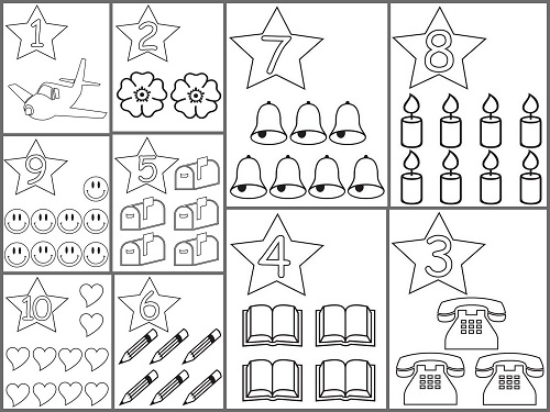 Numeros Para Colorear Del 1 Al 10 En Ingles Pin By Silvie Vernerova