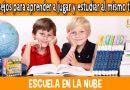 jugar y estudiar, estudiar y jugar