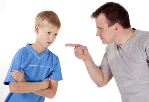 gritar a tus hijos