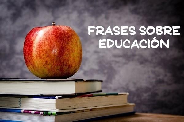 frases sobre educación