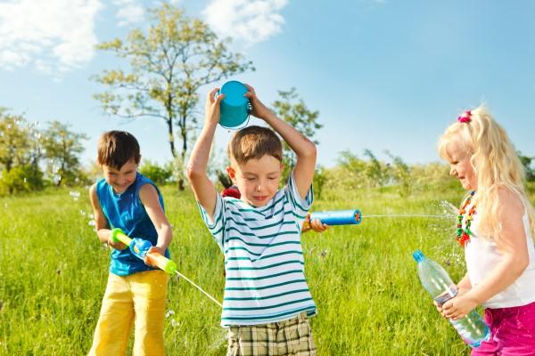 Juegos y actividades para niños en verano