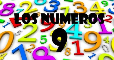 Los números del 1 al 9: El Nueve