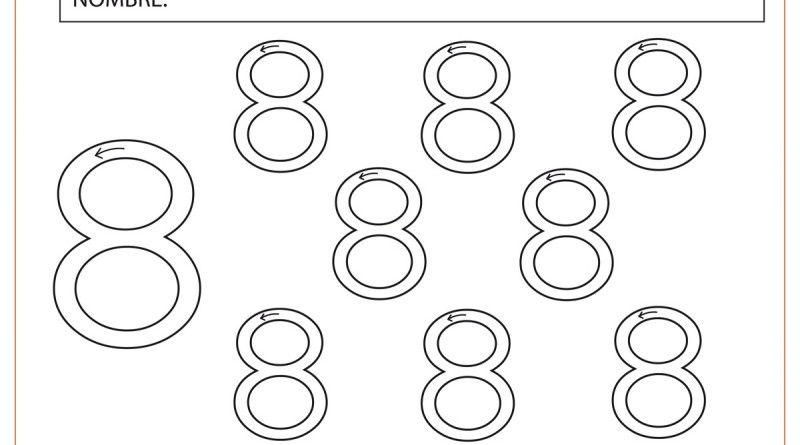number 7 worksheets