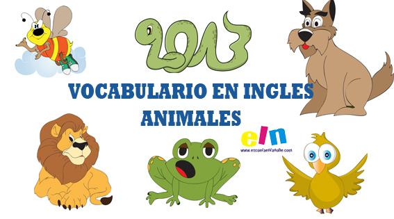 Vocabulario inglés: Animales, completa las palabras