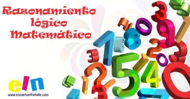 Razonamiento lógico Matemático. Fichas para trabajar
