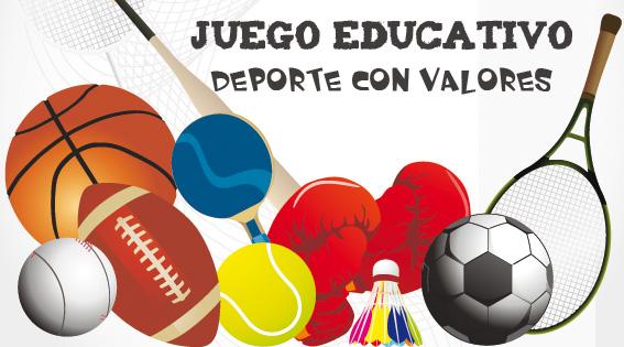 Juego educativo: Practicar deporte con valores