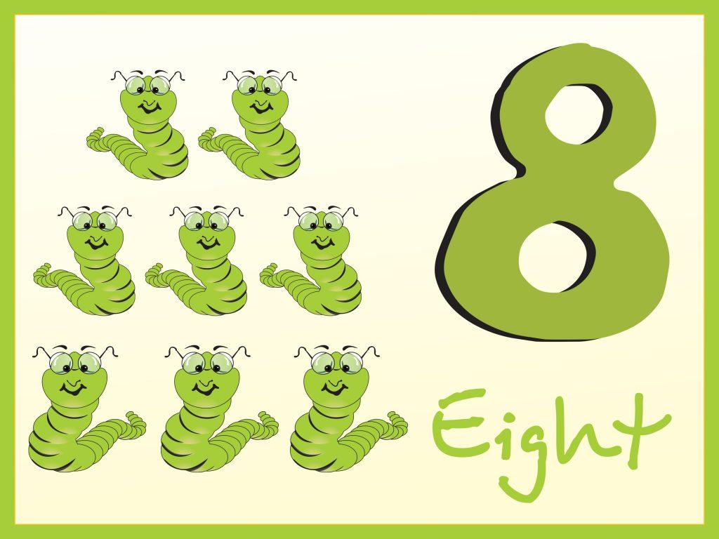 números en inglés 08