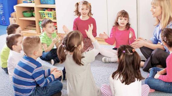 Juegos infantiles didácticos: Aplaude las palabras