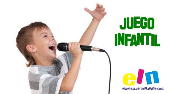 Juego infantil para estimular la expresión vocal y el ritmo
