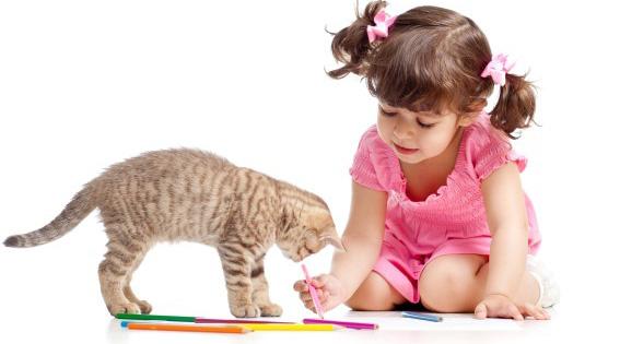 Las mascotas, una gran ayuda en la educación de los niños