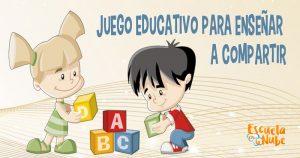 juegos para aprender a compartir
