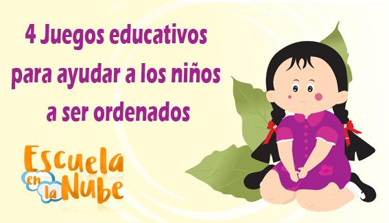 4 Juegos educativos para ayudar a los niños a ser ordenados