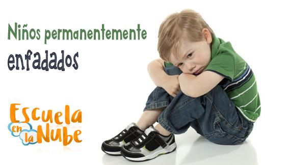 Niños permanentemente enfadados – Escuela de padres
