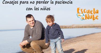 Consejos para no perder la paciencia con los niños
