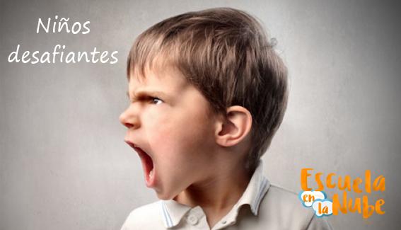 Niños desafiantes ¿Conoces que hacer cuando un niños es desafiante?