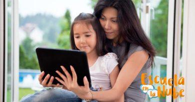 Por qué yo siempre estoy con mis hijos cuando usan una Tablet
