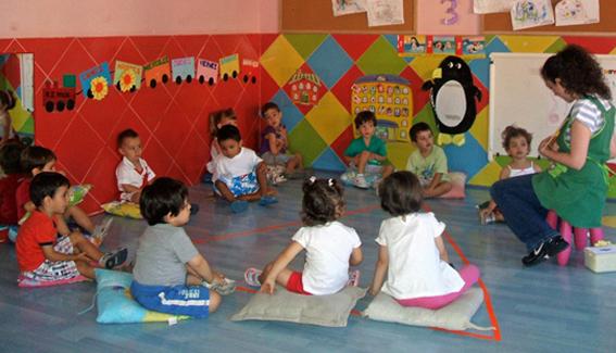 asamblea escuela infantil, escuela infantil, guarderia, actividades escuela