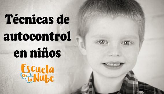 autocontrol en niños