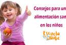 Consejos para una alimentación sana en los niños