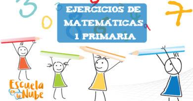 Ejercicios matemáticas 1 primaria: Números