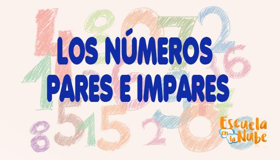 números pares e impares