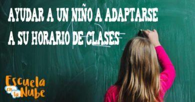 Ayudar a un niño a adaptarse a su horario de clases