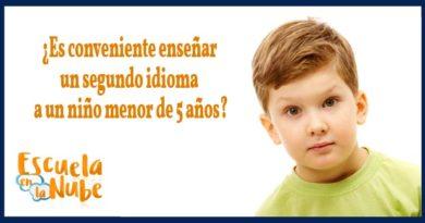 ¿Es conveniente enseñar un segundo idioma a un niño menor de 5 años?