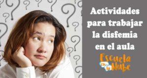 actividades disfemia