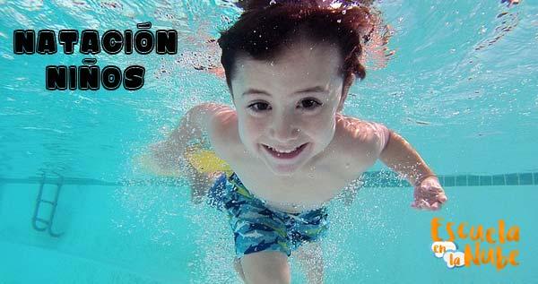 beneficios natación niños