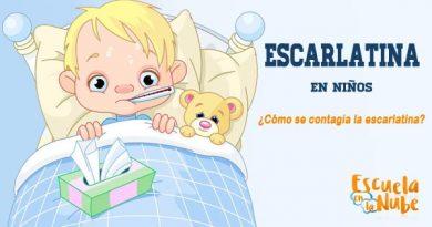 Escarlatina en niños, fiebre escarlata