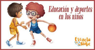 Educación y deportes en los niños