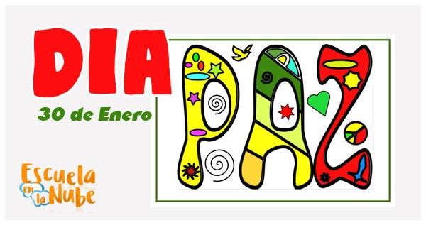 Día De La Paz Historia Frases Actividades Dibujos Para
