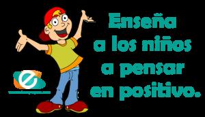 enseñar pensamientos positivos