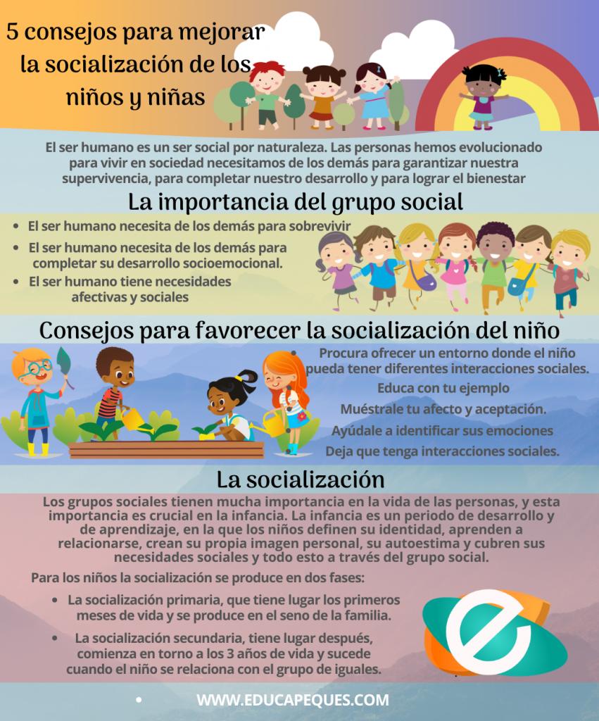 La Importancia De Los Grupos Sociales En Los Niños