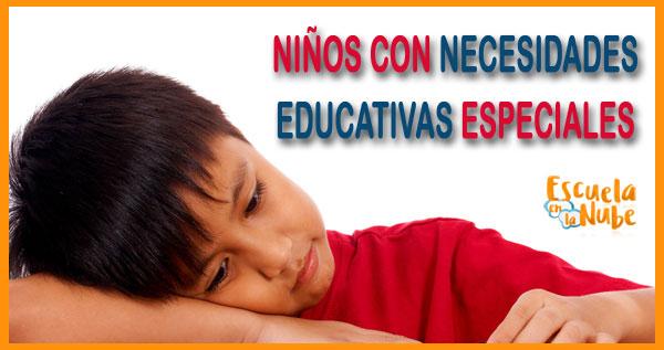 necesidaes educativas especiales