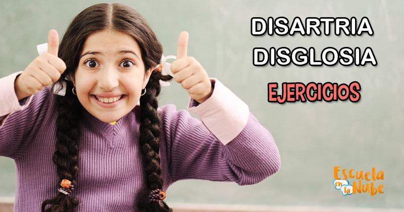 disartria, DISGLOSIA