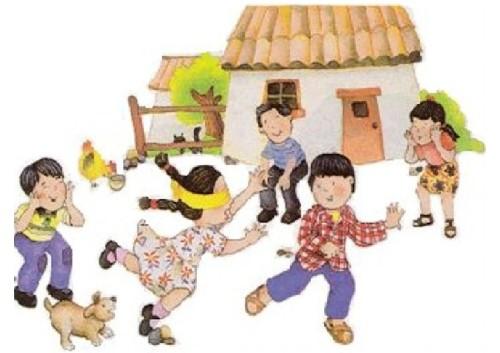 gallinita ciega, juegos tradicionales