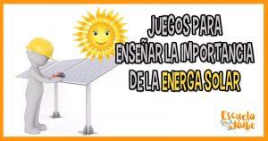 juegos energía solar