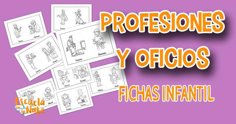 las profesiones, los oficios